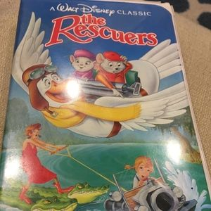 Walt Disney's The Rescuers Vintage VHS Tape